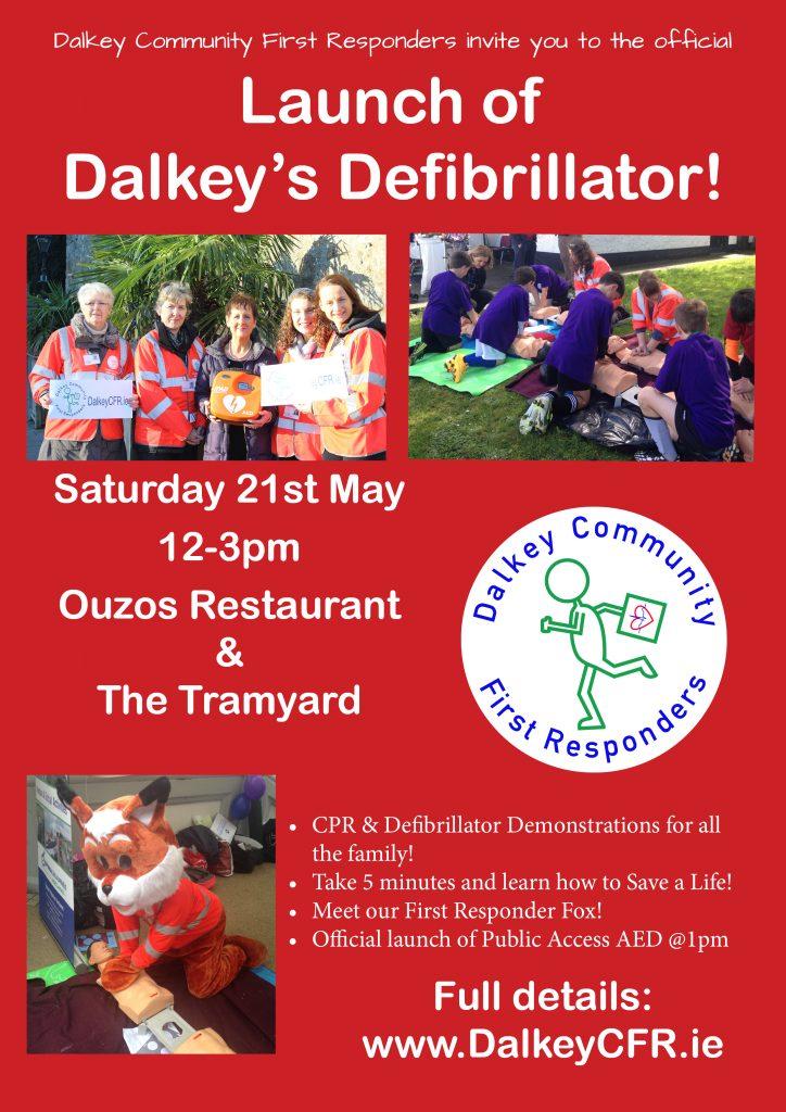 Poster - Dalkey Defibrillator